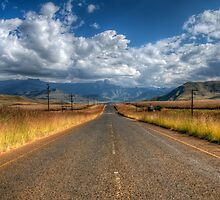 A Road Somewhere by Clive S