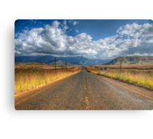 A Road Somewhere Metal Print