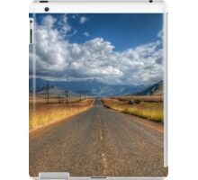 A Road Somewhere iPad Case/Skin