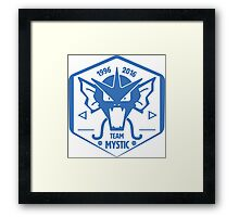-GEEK- Team Mystic Gyrados Framed Print