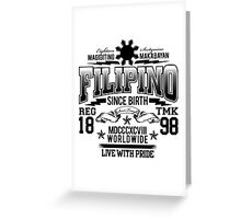 FILIPINO Greeting Card