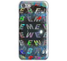 Remember Be Me iPhone Case/Skin