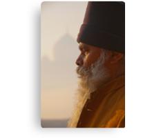 Meditation At The Taj Canvas Print