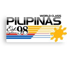Pilipinas World Class Canvas Print