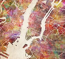 New York by MapMapMaps