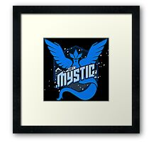 -GEEK- Team Mystic  Framed Print