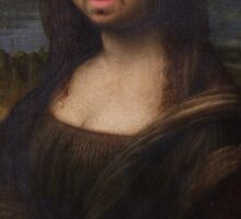 The Moaning Lisa (Karl Pilkington) Sticker