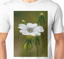 tiny white flower Unisex T-Shirt