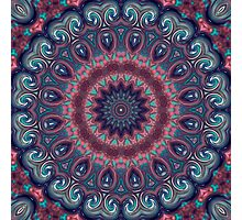 Colorful kaleidoscope .  Photographic Print