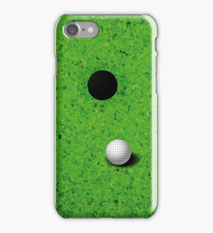 Playing Golf  iPhone Case/Skin