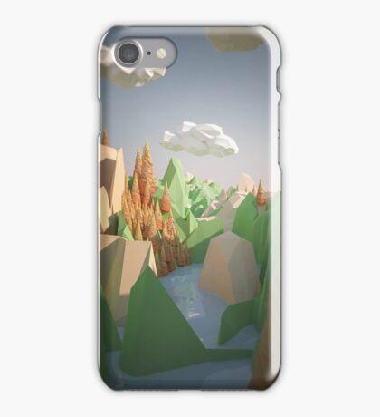 River flow iPhone Case/Skin
