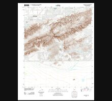 USGS TOPO Map Arizona AZ Lone Butte 20111129 TM Unisex T-Shirt
