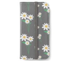 White flowers   iPhone Wallet/Case/Skin