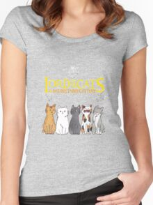 Lord Of The Cats  Women's Fitted Scoop T-Shirt