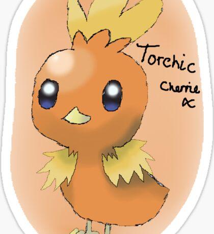 Torchic Sticker