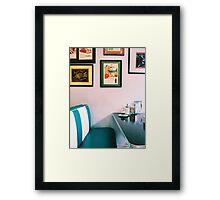 American Diner Framed Print