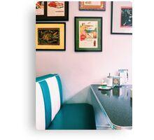American Diner Metal Print
