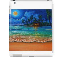 Moonlight Lagoon iPad Case/Skin