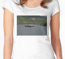 Rhine Barge Wertheim Women's Fitted Scoop T-Shirt