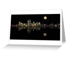 Perth Panorama Greeting Card