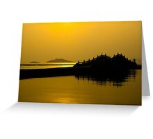 Taihu Lake, Wuxi, Jiangsu, China - 2014 Greeting Card