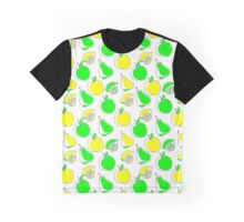 Fruit pattern Graphic T-Shirt