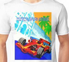 """INTERNATIONAL GRAND PRIX"" Auto Racing Print Unisex T-Shirt"