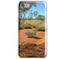 A Road To Walk - Canning Stock Route iPhone Case/Skin