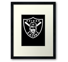 Raider Klan Framed Print