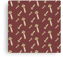 Cute Meerkats Canvas Print
