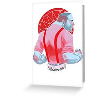 DC'S LEGENDS OF TOMORROW - Mick Rory Greeting Card