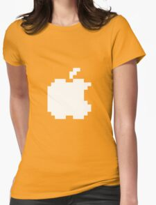 Apple pixel Womens Fitted T-Shirt