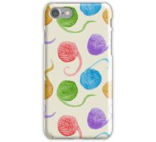 Knitter's Paradise Pattern iPhone Case/Skin