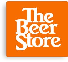 The Beer Store Canvas Print
