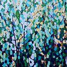 Blossom & Lorikeets by Mellissa Read-Devine
