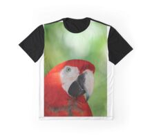 Red Macaw  Graphic T-Shirt