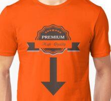 Premium high quality down bellow Unisex T-Shirt