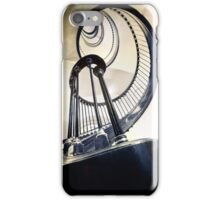 Metal spirals in wide angle iPhone Case/Skin