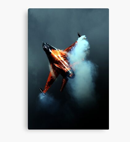 Into The Storm Canvas Print