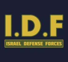 IDF Israel Defense Forces - with Symbol T-Shirt