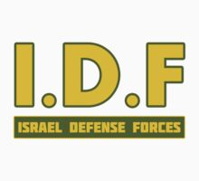 IDF Israel Defense Forces - with Symbol Kids Tee