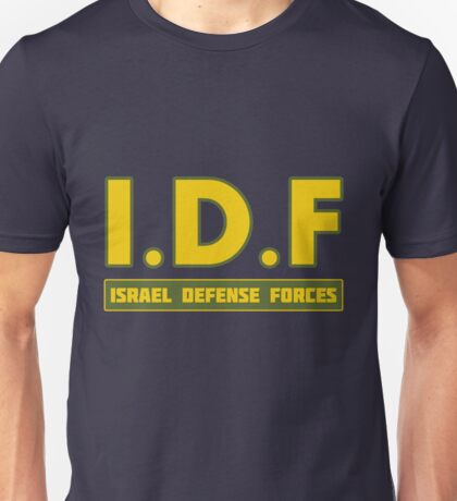 IDF Israel Defense Forces - with Symbol Unisex T-Shirt