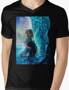 The Wave Mens V-Neck T-Shirt