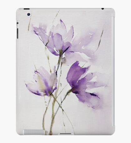 wilted tulips iPad Case/Skin