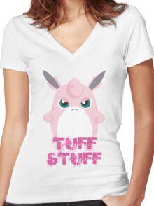 Tuff Stuff Women's Fitted V-Neck T-Shirt