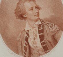 0143 ballooning Rto del Capitan dn Vincente Lunardi Nació en Lucca el dia 11 de enero de 1759 Nesmith pinxt Burke fecit Sticker