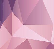 Abstract polygonal pattern by Xinnie