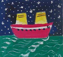 Mer emeraude by AgnesZirini