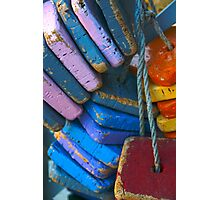 Colorful Floating Cork Photographic Print