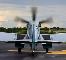 RAF Supermarine Spitfire by captureasecond
